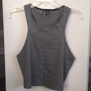 Urban Outfitters ribbed cropped tank